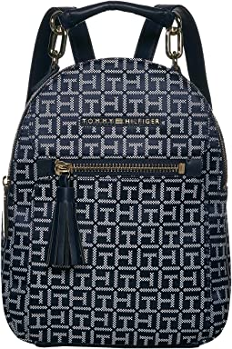 Macon Jacquard Square Backpack