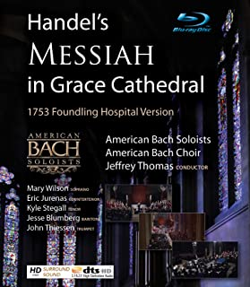 Handel's Messiah in Grace Cathedral