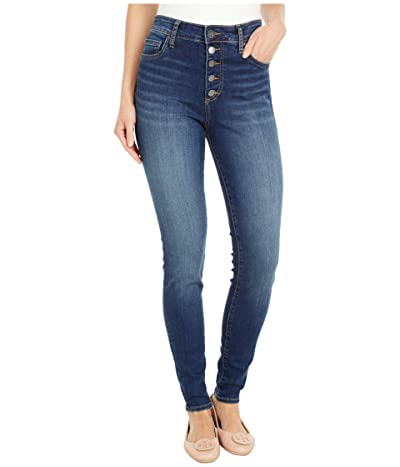 KUT from the Kloth Mia High-Rise Skinny Button Fly in Goodly (Goodly Wash) Women
