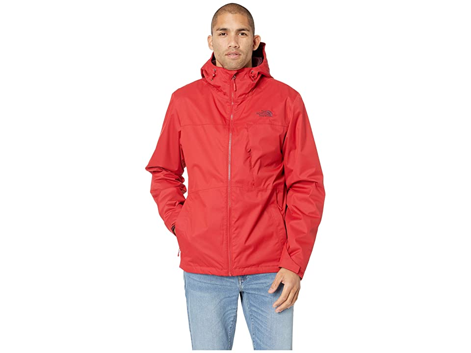 The North Face Arrowood Triclimate Jacket (Rage Red/Fig) Men