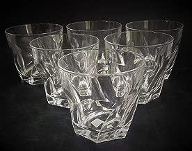 Raro Cj 6 Copos Para Whisky Cristal Frances 1244 Rrdeco Cor:Branco (Translucido)