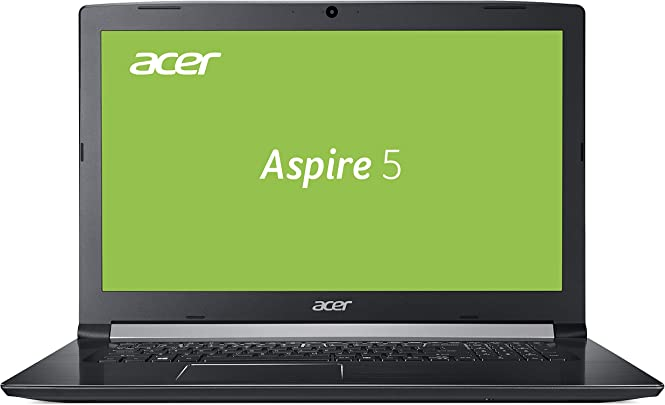 Acer Aspire  A517-51-56JV  43 9 cm  17 3 Zoll Full-HD matt  Multimedia Laptop  Intel Core i5-8250U  8GB RAM  256GB SSD  Intel UHD  Win 10  schwarz