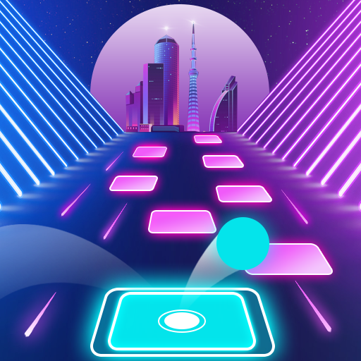 Magic tiles hop 3D EDM Rush! Dancing Ball Hop Music Game Forever