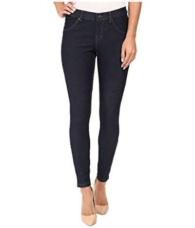 HUE Essential Denim Leggings (Deep Indigo Wash) Women