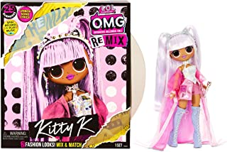 L.O.L Surprise! OMG Remix Kitty K Fashion Doll – with 25...