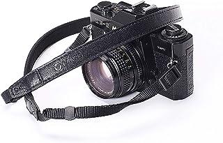 CANPIS CP008 - Correa de Piel Ajustable para cámaras réflex Digitales y sin Espejo (95-135 cm)