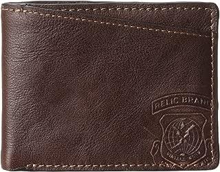 Relic Men's Hatch Traveler Wallet, Brown, One Size