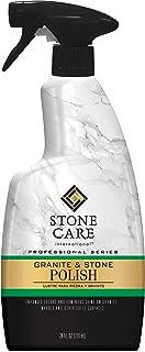 Stone Care International Granite Stone Polish - 24 Ounce - for Granite Marble Soapstone Quartz Quartzite Slate Limestone C...