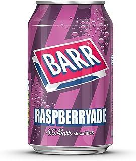 Barr Raspberryade blikjes, 330 ml, verpakking van 24 stuks