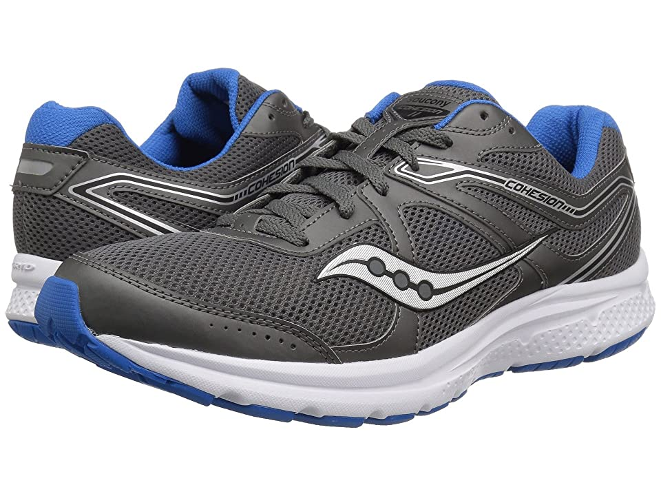 Saucony Cohesion 11 (Charcoal/Blue) Men