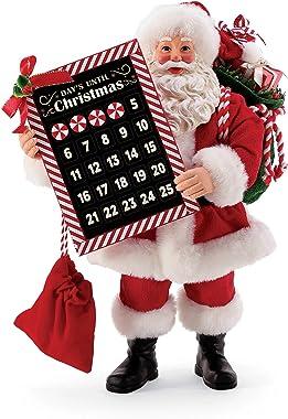 Department 56 Christmas Traditions Santa Countdown Figurine, 10.5 Inch, Multicolor