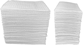 50 Count - White 3-Ply Baby Public Changing Table Liners - 13 in. X 19 in.