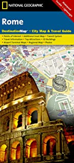Rome (National Geographic Destination City Map)