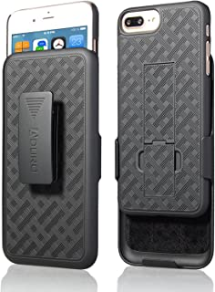 """Aduro Holster Case for iPhone 8 Plus/iPhone 7 Plus (5.5"""") Combo Shell & Holster.."""