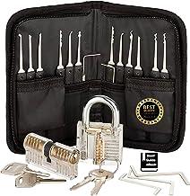 Lock Model with Professional 17-Piece Set Black