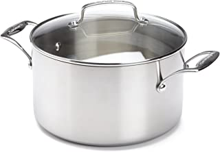 Cuisinart Tri-Ply 6-Quart Saucepot with Glass Cover