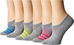 adidas - Superlite Super No Show Socks 6-Pack