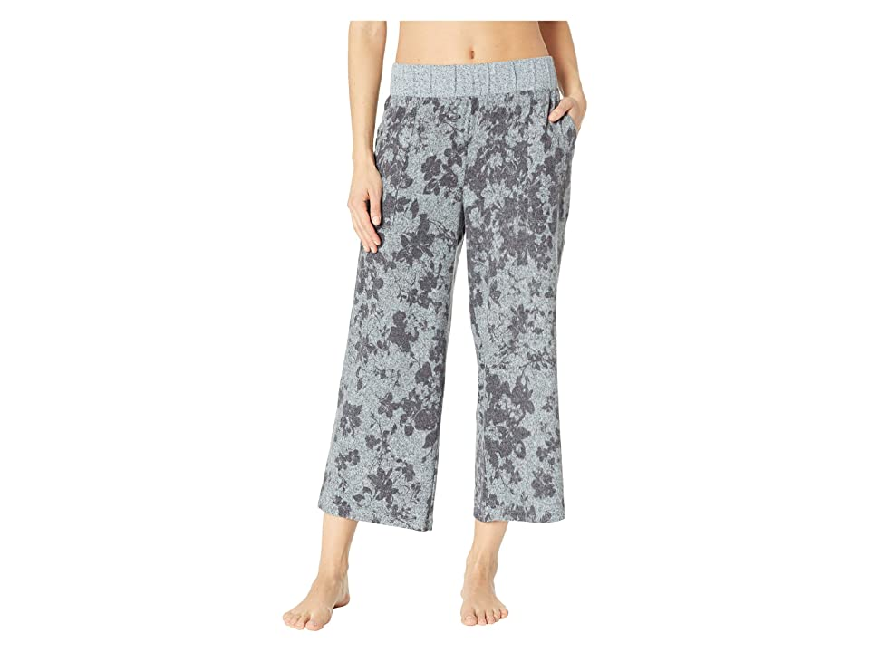 Splendid Crop Flare Pajama Pants (Wildflower Garden) Women