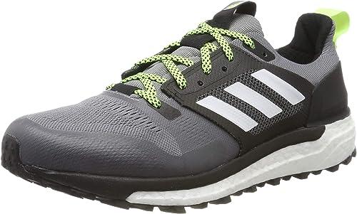 Adidas Supernova Trail M, Hauszapatos de Deporte para Hombre, gris (Gritre Ftwbla Negbás 000), 44 2 3 EU