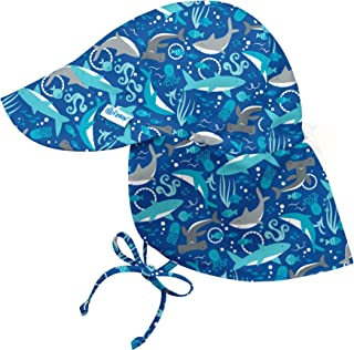 i play. by green sprouts Baby Boys` Flap Hat   All-Day UPF 50+ Sun Protection for Head, Neck, Eyes