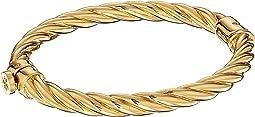 Tory Burch - Twisted Rope Hinge Bracelet