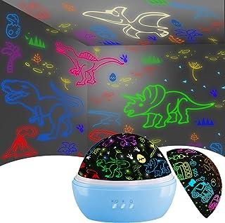 Night Light for Kids,Dinosaur Decor Boys Room,Projection...