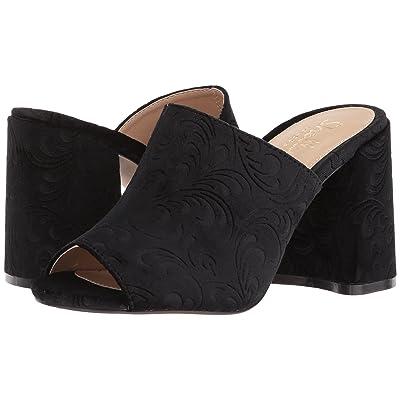 Shellys London Dalia (Black Velvet) High Heels