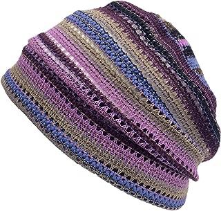Men Summer Beanie Knit - Women Hipster Slouchy Hat Boho Street Fashion Cap