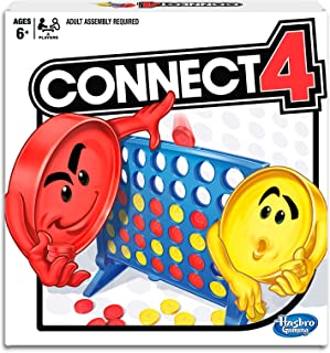 Connect 4 - 4 in a Row - Classic Game - 2 Players - Kids Toys Ages 6+