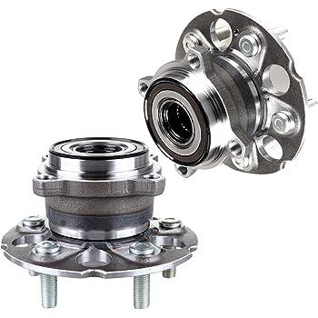 512344x1 ECCPP Wheel Bearing and Hub Assembly for HONDA Professional Grade Wheel Hub Bearing 5 Lugs W//ABS