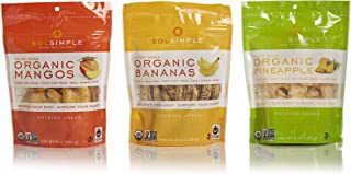 Sol Simple Solar Dried Fruit Snack Variety Pack, Ethical Trade From Nicaraguan Smallholder Farmers, Gluten & Preservative ...