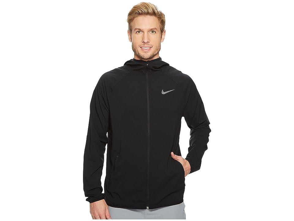 Nike Flex Training Jacket (Black/Metallic Hematite) Men