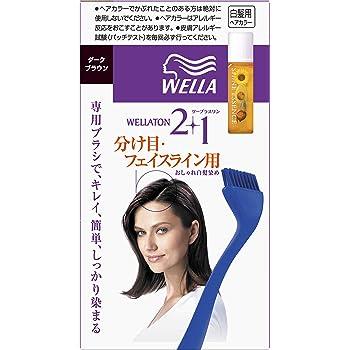 ウェラトーン2+1 分け目・フェイスライン用 ダークブラウン [医薬部外品](おしゃれな白髪染め)