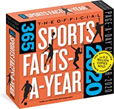 The Official 365 Sports Facts-A-Year Page-A-Day Calendar 2020