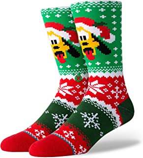 Stance Foundation Mens Socks ~ Pluto Claus