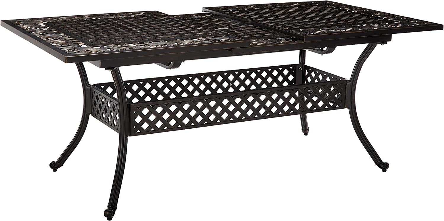 Best for Classic Design: Christopher Knight Home Extendable Patio Table.