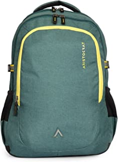 Aristocrat 34 Ltrs Green Laptop Backpack (LPBPGRI1GRN)