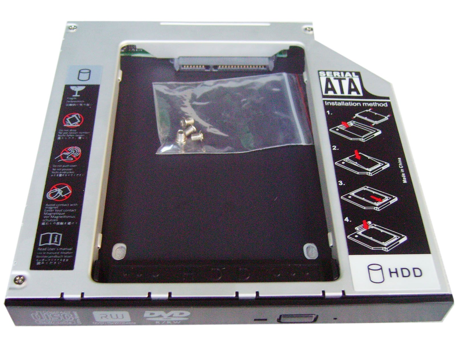 Generic 2 nd Disco Duro HDD SSD Bay Caddy para Acer Aspire 5745 ...