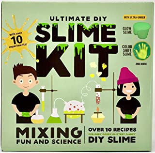 Baby Mushroom Ultimate Slime Kit - 10 Slimy Science Experiments   Fun and Educational DIY Project.