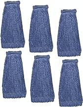 KLEEN HANDLER HEAVY DUTY Commercial Universal Headband Blend Mop, Blue 蓝色