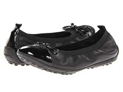 Geox Kids Jr Pima 22 (Little Kid) (Black) Girls Shoes