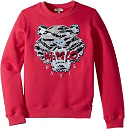 Kenzo Kids - Sweat Seasonal Tiger (Big Kids)