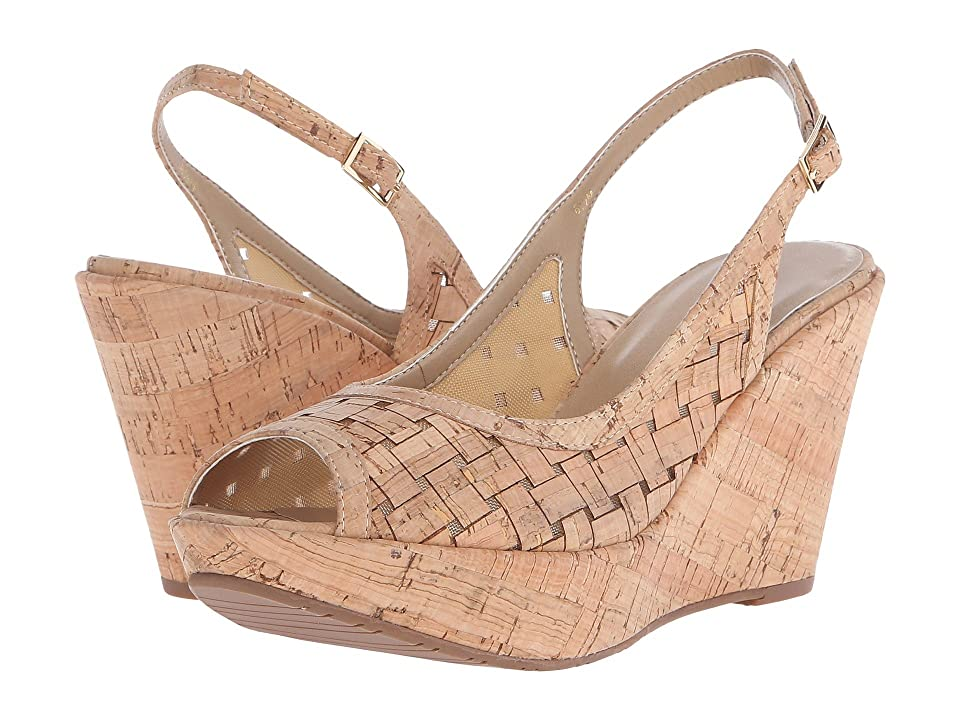 Vaneli Elissa (Natural Wicker Cork/Beige Mesh/Natural Cork) Women