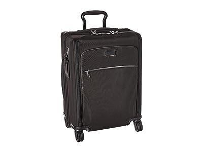 Tumi Larkin Abbey Continental Dual Access 4 Wheeled Carry-On (Black/Silver) Luggage