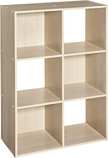 ClosetMaid 4176 Cubeicals Organizer, 6-Cube, Birch