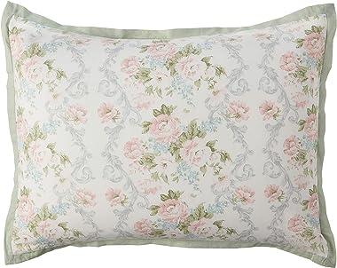 Laura Ashley Home   Harper Collection   Luxury Ultra Soft Comforter, All Season Premium 4 Piece Bedding Set, Stylish Delicate