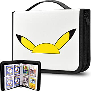 480 Sheet Card Binder Book Album Compatible with Pokemon Trading Cards, Storage Case Organizer Cover for M.T.G/C.A.H/Yu-Gi...