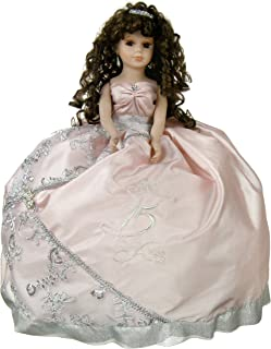 quinceanera pillows doll and accessories set