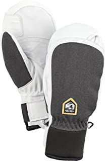 Hestra Ski Gloves: Army Leather Patrol Winter Cold Weather Mens Mitten