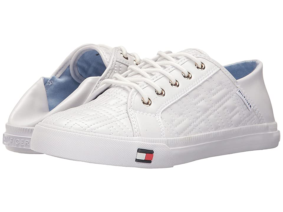 0e8e30d38f83 Tommy Hilfiger Aleeh (White) Women s Shoes